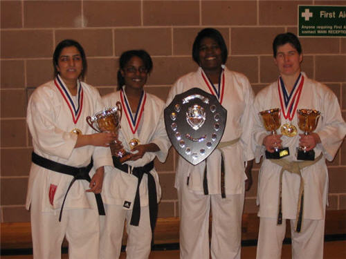 Ladies Team Kumite